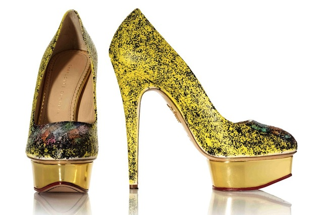 Charlotte Olympia's artistic collaboration at Gagosian Gallery