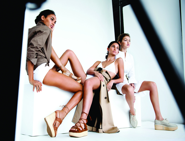 The new faces of Stuart Weitzman