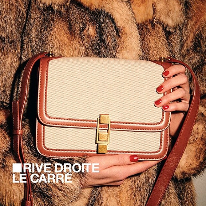Tis the season to spoil yourself and Saint Laurent's Rive Droite is just the way to do it