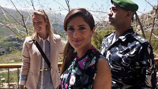 Salma Hayek makes an emotional trip to Lebanon to launch her new film – 'The Prophet'