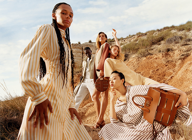 We want every single item photographed for Salvatore Ferragamo's new campaign