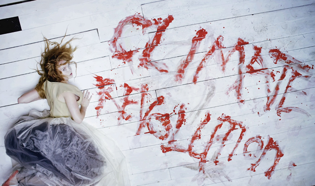 Lily Cole stars in Vivienne Westwood's film 'The Red Shoes'