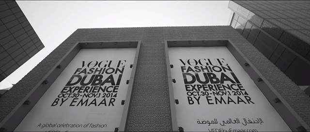 Watch now: The Vogue Fashion Dubai Experience 2014 highlights