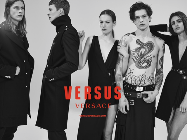 The new Versus Versace Autumn/Winter 15 campaign is here
