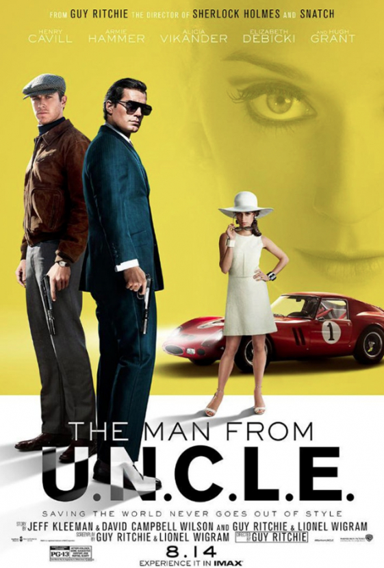 New movie posters released for Guy Ritchie's upcoming 'The Man From U.N.C.L.E'