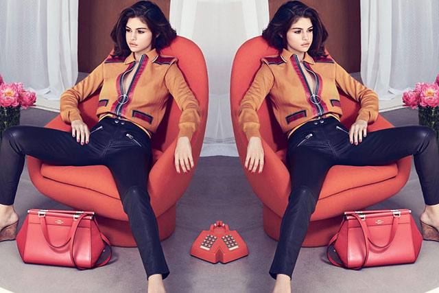 First look: Selena Gomez's Grace bag for Coach