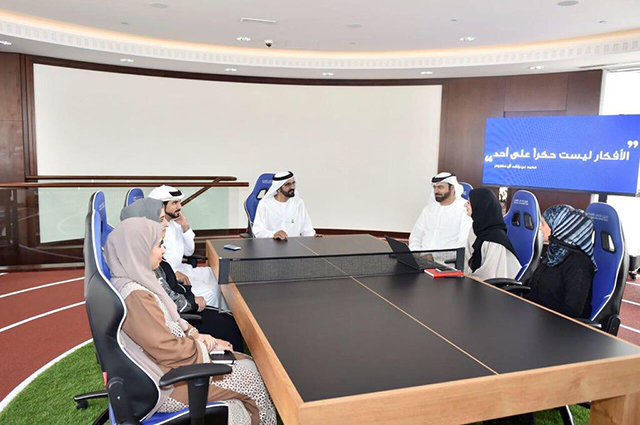 Sheikh Mohammed announces 'Innovation Week' for the UAE