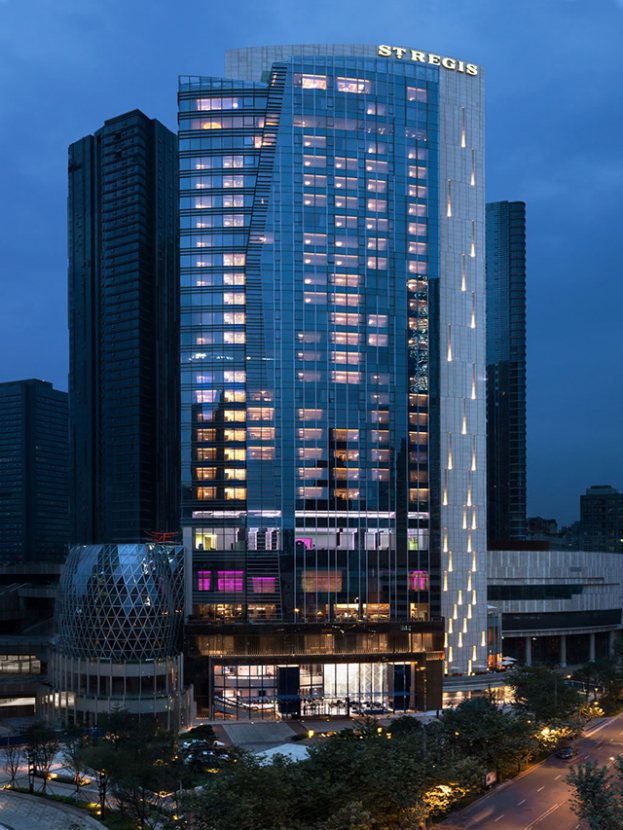 The highly-anticipated St. Regis Chengdu opens in China