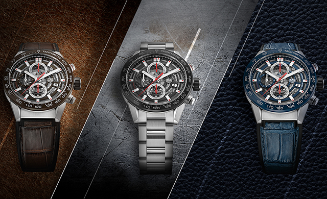 Sneak peek: Tag Heuer's Carrera timepieces for Baselworld '17