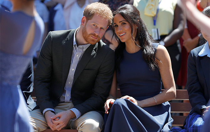 Prince Harry and Meghan Markle step back as senior royals
