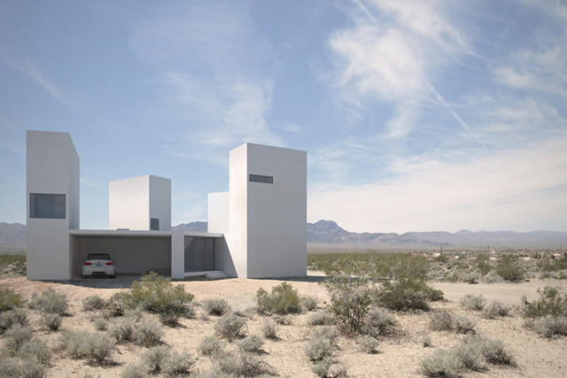 Take a closer look at 'Four Eyes House' in Coachella Valley, California