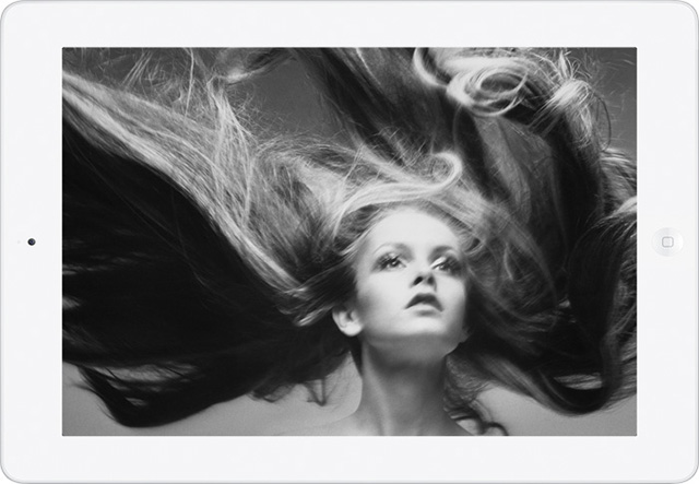 The Richard Avedon photography app