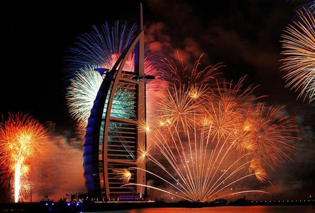 Buro 24/7 Guide: New Year's Eve in the Middle East