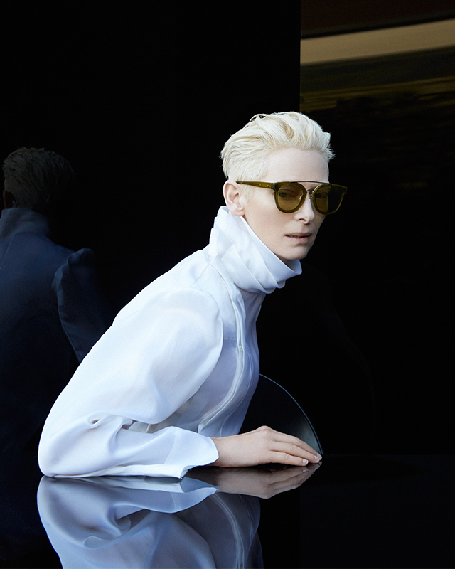 First look: Tilda Swinton for Gentle Monster