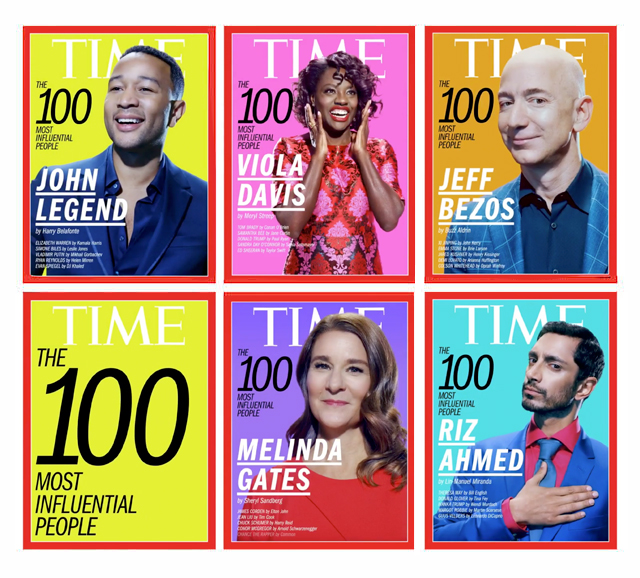 Time's 100 Most Influential People announced