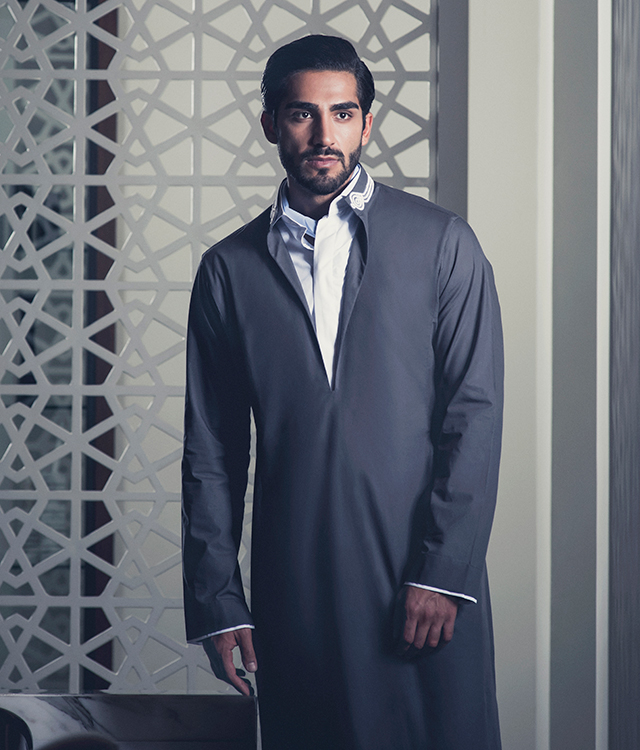Discover Hatem Alakeel's new men's collection for Toby