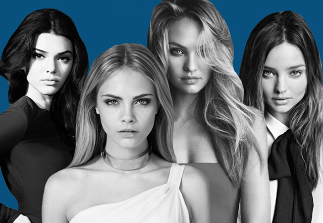 Cara Delevingne and Kendall Jenner are among 2014's most popular models