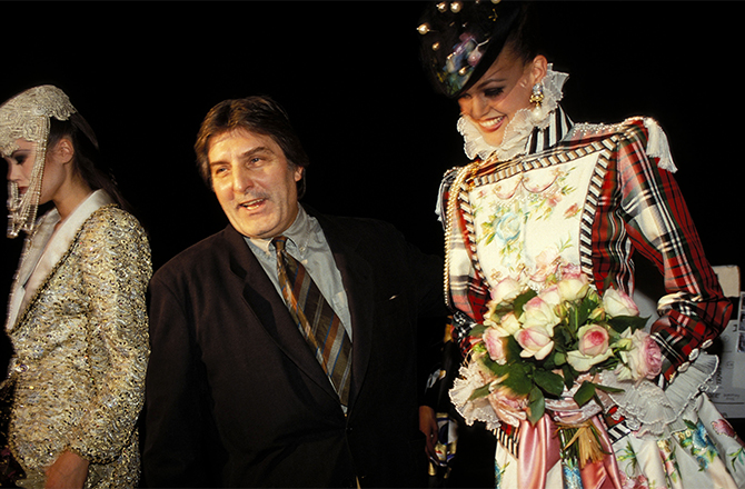 French fashion designer Emanuel Ungaro dies aged 86