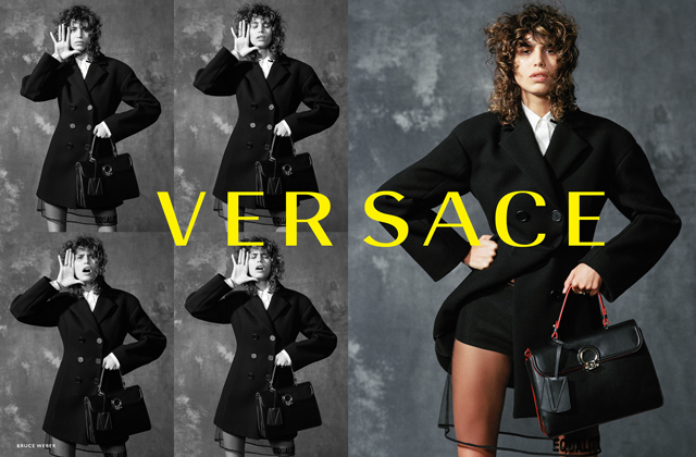Versace's Fall '17 campaign by Bruce Weber