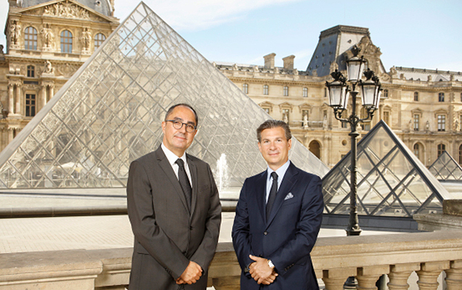 Luxury watchmaker Vacheron Constantin partners with the Louvre