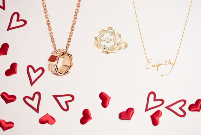 Your last minute jewellery guide for Valentine's Day