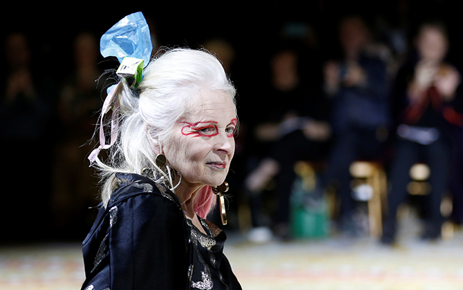 Vivienne Westwood will be honoured at the 2018 Fashion Awards
