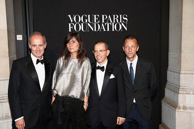 Joan Smalls, Naomi Campbell, Marc Jacobs and more attend the Vogue Paris Foundation Party