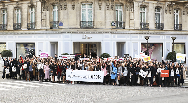 Dior welcomed 200 women from around the globe for its 2018 Women @ Dior programme