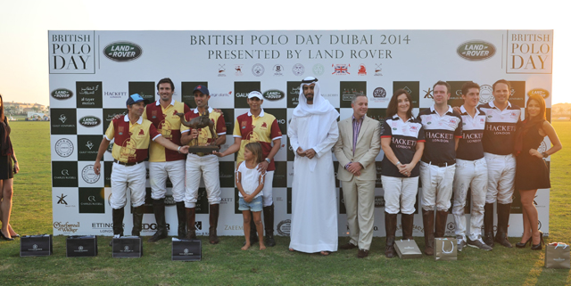 UAE royals and VIPs celebrate British Polo Day Dubai