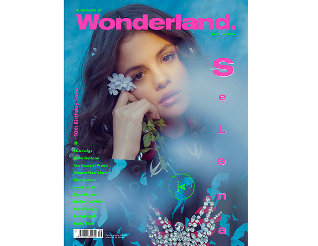 Wonder babe: Selena Gomez shows off her natural beauty for Wonderland