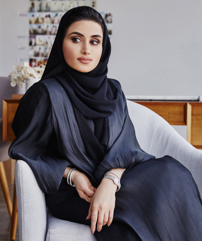Yasmin Al Mulla teams up with Maison Christian Dior