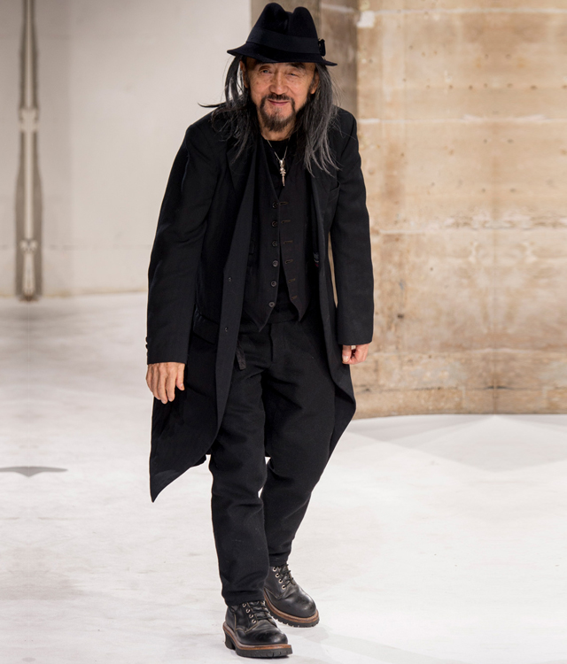 Men's Paris Fashion Week: Yohji Yamamoto Fall/Winter '17
