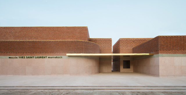 Exclusive: The first official photos of the Musee Yves Saint Laurent Marrakech