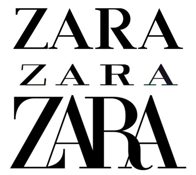 Zara has unexpectedly unveiled a new logo and the internet is not happy about it