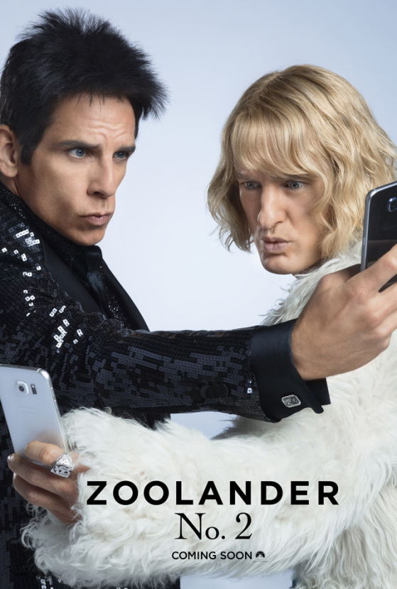 Sneak peek: Saint Laurent x Zoolander 2