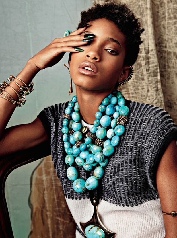 Willow Smith stars in new shoot for CR Fashion Book