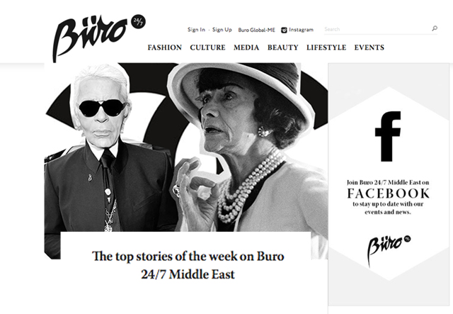 The top stories of the week on Buro 24/7 Middle East