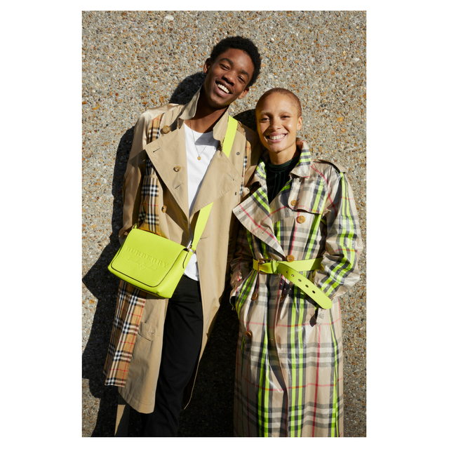 Burberry teams up with Adwoa Aboah and Juergen Teller