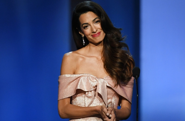 There's going to be an Amal Clooney Award in honour of inspirational women