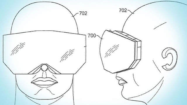 Apple reveals its design for patent head-mounted display