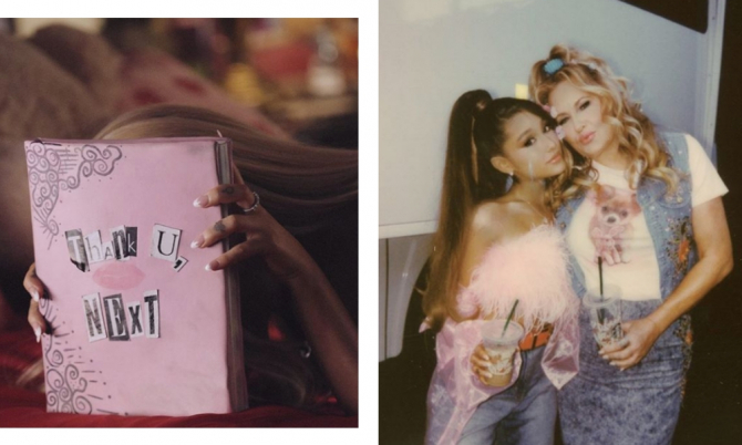 Ariana Grande's 'Thank U, Next' film clip is the early 2000s movie mash-up of our dreams