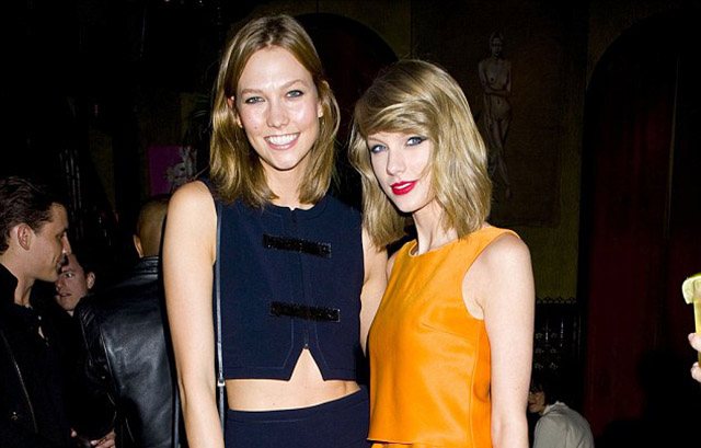 Rumour Are Taylor Swift And Karlie Kloss About To Cover Vogue