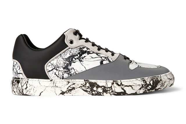 Balenciaga unveil new marble sneakers for Autumn/Winter 14