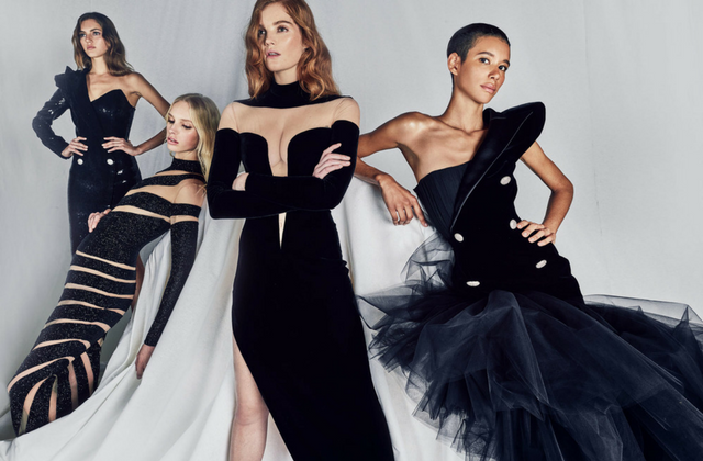 Balmain launches red carpet capsule collection