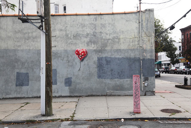 Banksy's New York heart to be sold in Miami