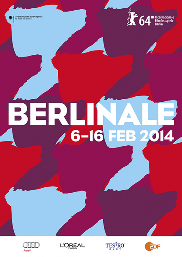 Official poster of the 2014 Berlinale
