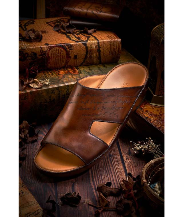 Berluti releases exclusive sandal for the Middle East