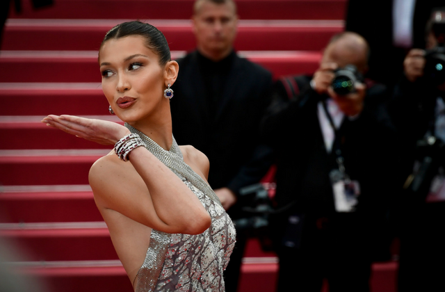 The 'BlacKkKlansman' premiere at Cannes Film Festival was a top model affair