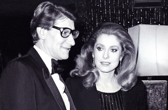 Christie's will auction off Catherine Deneuve's Yves Saint Laurent-filled wardrobe