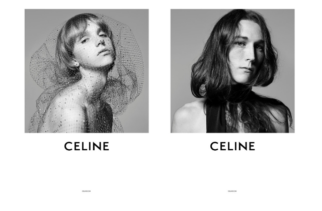 Hedi Slimane debuts his first campaign for Celine